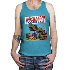 Laser Eyes Comics - Tanktop - Tanktop - RIPT Apparel