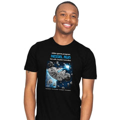 Kessel Run Video Game - Mens - T-Shirts - RIPT Apparel