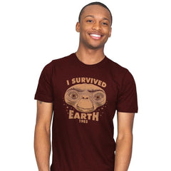 I Survived Earth - Mens - T-Shirts - RIPT Apparel