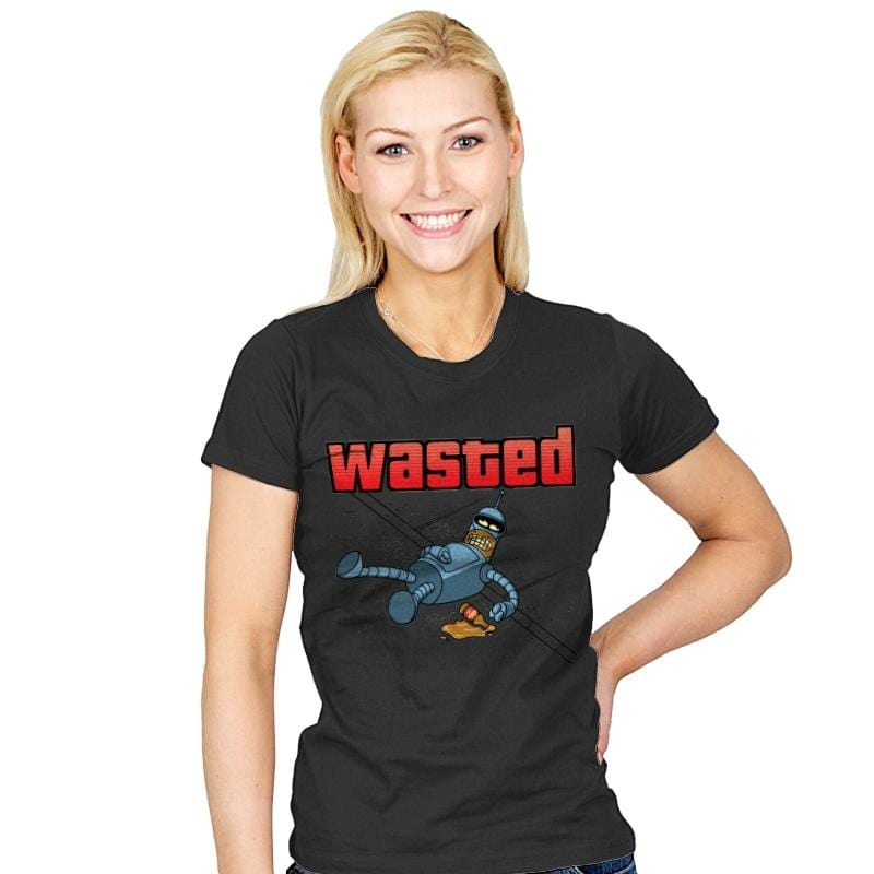Wasted - Womens - T-Shirts - RIPT Apparel