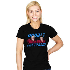 Double Facepalm - Womens - T-Shirts - RIPT Apparel