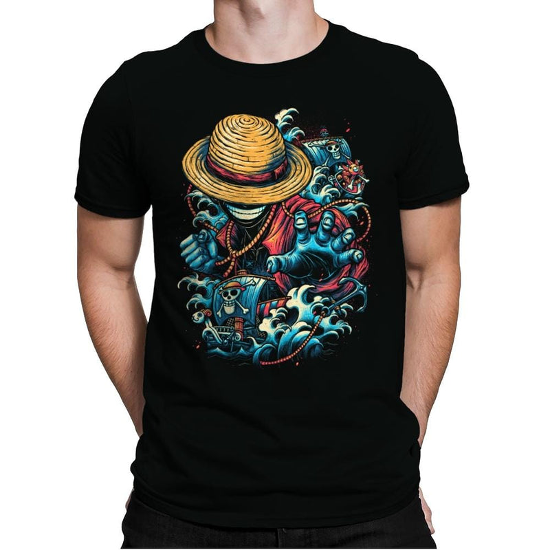 Colorful Pirate - Mens Premium - T-Shirts - RIPT Apparel