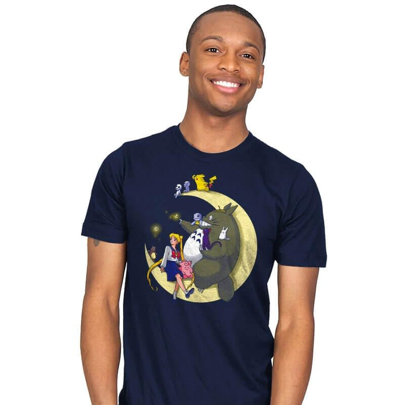 Moonlight Buddies - Mens - T-Shirts - RIPT Apparel