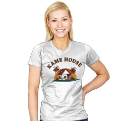 Kame House - Womens - T-Shirts - RIPT Apparel