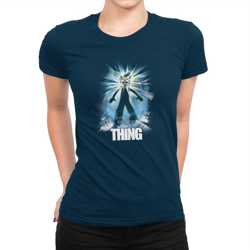 The Any Thing Exclusive - Womens Premium - T-Shirts - RIPT Apparel