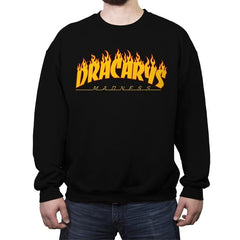 Draca or Die - Crew Neck Sweatshirt - Crew Neck Sweatshirt - RIPT Apparel
