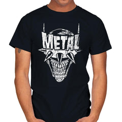 Heavy Metal Laughing-Bat - Anytime - Mens - T-Shirts - RIPT Apparel