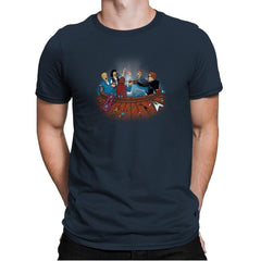 Hot Tub Time Travelers Exclusive - Mens Premium - T-Shirts - RIPT Apparel