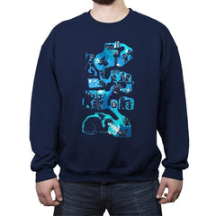 Dungeon Crawlers - Crew Neck Sweatshirt - Crew Neck Sweatshirt - RIPT Apparel