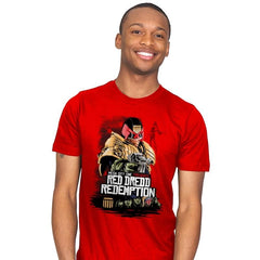 Red Dredd - Mens - T-Shirts - RIPT Apparel
