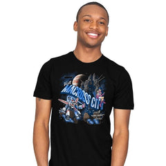 Visit Macross City - Mens - T-Shirts - RIPT Apparel