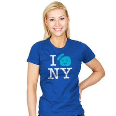 I Gozer New York Reprint - Womens - T-Shirts - RIPT Apparel