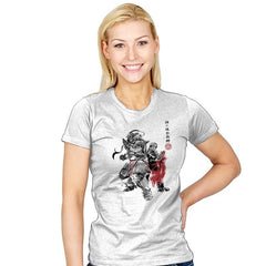 Brotherhood Sumi-E - Sumi Ink Wars - Womens - T-Shirts - RIPT Apparel
