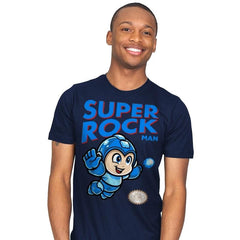 Super Rock MAN - Mens - T-Shirts - RIPT Apparel