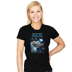 Kessel Run Video Game - Womens - T-Shirts - RIPT Apparel