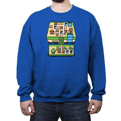 Console Bros. - Crew Neck Sweatshirt - Crew Neck Sweatshirt - RIPT Apparel