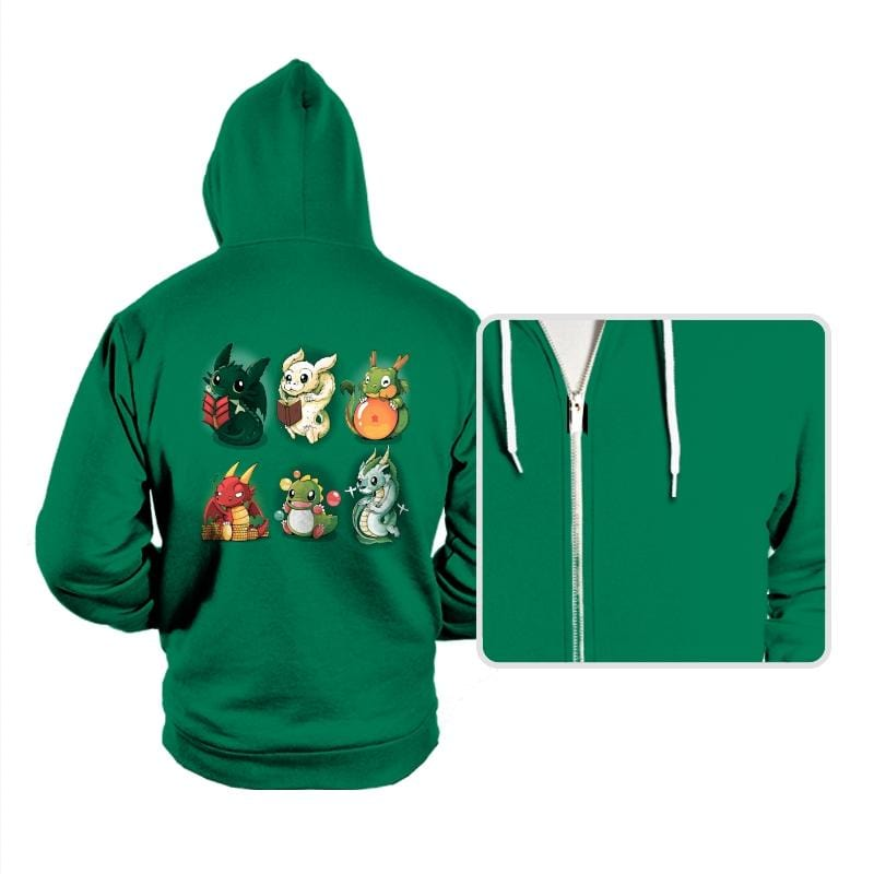 Nerd Dragons - Hoodies - Hoodies - RIPT Apparel