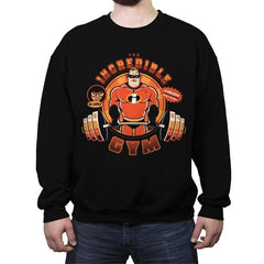 Incredible GYM - Crew Neck Sweatshirt - Crew Neck Sweatshirt - RIPT Apparel