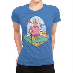 Snow Peach of Lylat - Womens Premium - T-Shirts - RIPT Apparel