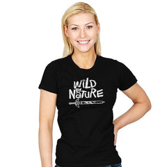 Wild by Nature - Womens - T-Shirts - RIPT Apparel