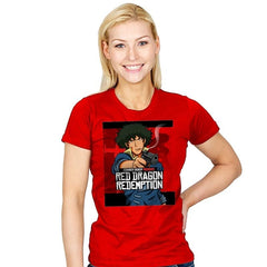 Red Dragon Redemption - Womens - T-Shirts - RIPT Apparel