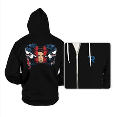 Spiders and Symbiotes - Hoodies - Hoodies - RIPT Apparel