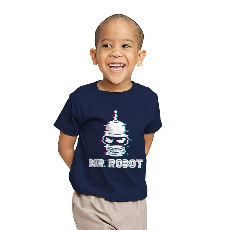 Mr. Robot - Youth - T-Shirts - RIPT Apparel