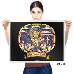 Our Lady of Slay Exclusive - Prints - Posters - RIPT Apparel