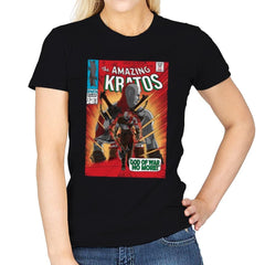 The Amazing Spartan - Womens - T-Shirts - RIPT Apparel