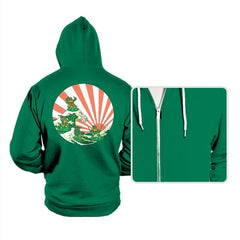 The Great Wave Off Cowabunga - Hoodies - Hoodies - RIPT Apparel
