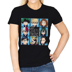 My Hero Bunch - Womens - T-Shirts - RIPT Apparel