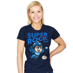Super Rock MAN - Womens - T-Shirts - RIPT Apparel