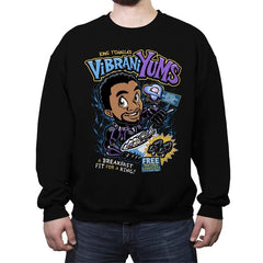 VibraniYums - Crew Neck Sweatshirt - Crew Neck Sweatshirt - RIPT Apparel