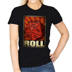 Roll The Dice - Womens - T-Shirts - RIPT Apparel