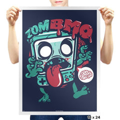 Zombmo Exclusive - Dead Pixels - Prints - Posters - RIPT Apparel