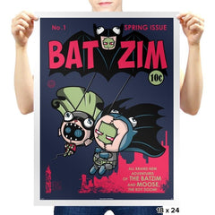 BatZim Exclusive - 90s Kid - Prints - Posters - RIPT Apparel