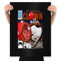 The Incredible Clown - Prints - Posters - RIPT Apparel