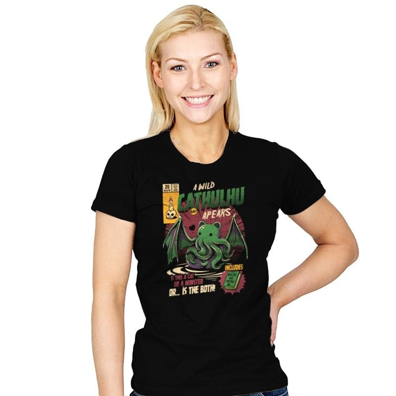 Cathulhu - Womens - T-Shirts - RIPT Apparel