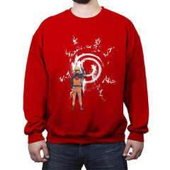 Graff Naruto - Crew Neck Sweatshirt - Crew Neck Sweatshirt - RIPT Apparel