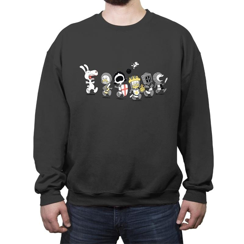 Run Away! Run Away!  - Crew Neck Sweatshirt - Crew Neck Sweatshirt - RIPT Apparel