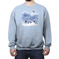 Mt. Droidmore - Crew Neck Sweatshirt - Crew Neck Sweatshirt - RIPT Apparel