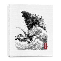 The Rise of Gojira - Canvas Wraps - Canvas Wraps - RIPT Apparel