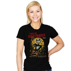 Trick or Nightmares - Womens - T-Shirts - RIPT Apparel