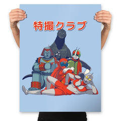 Tokusatsu Club - Prints - Posters - RIPT Apparel