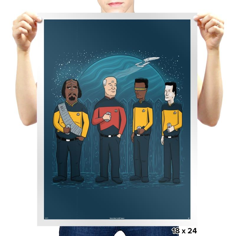 King of the Enterprise Exclusive - Prints - Posters - RIPT Apparel