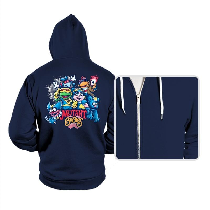 Mutant Babies - Hoodies - Hoodies - RIPT Apparel
