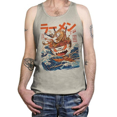 Great Ramen off Kanagawa  - Tanktop - Tanktop - RIPT Apparel