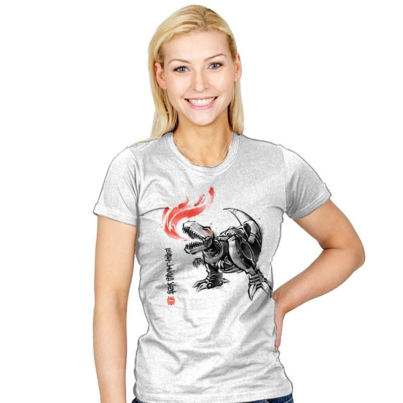 Robot Lizard King - Womens - T-Shirts - RIPT Apparel