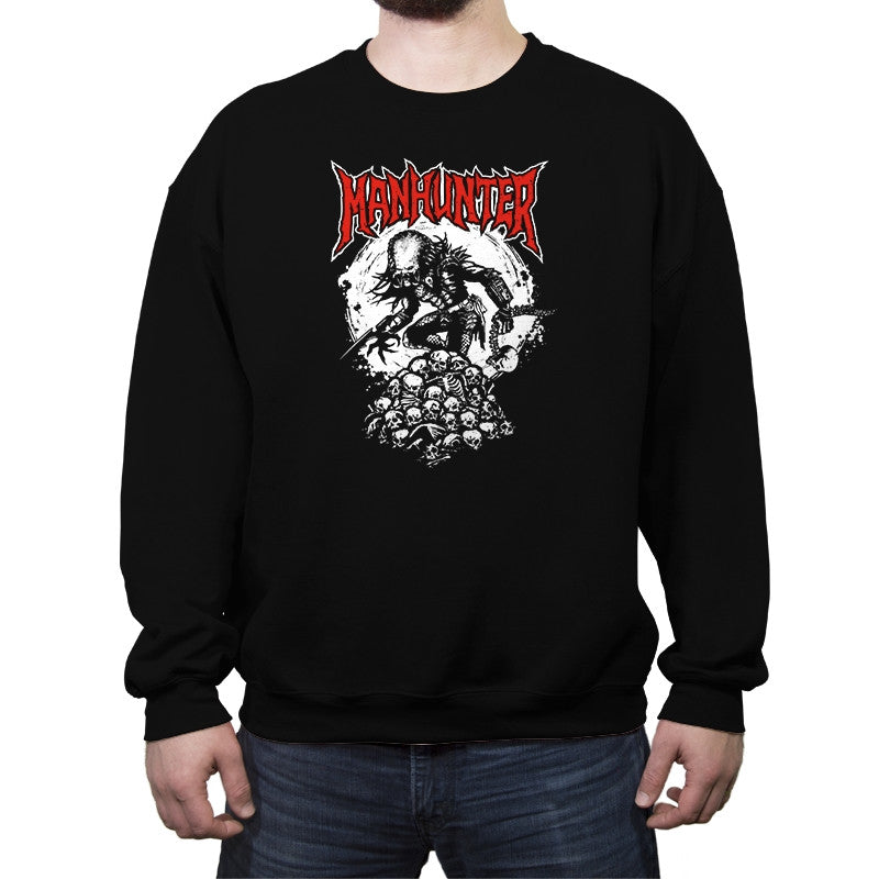 Manhunter - Crew Neck Sweatshirt - Crew Neck Sweatshirt - RIPT Apparel