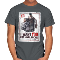 Avalanche Needs You - Mens - T-Shirts - RIPT Apparel